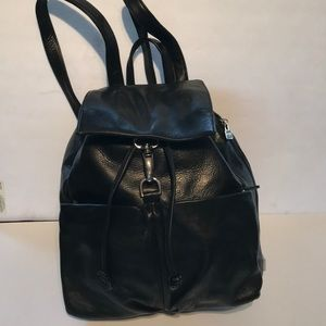 PERLINA LEATHER BACK PACK